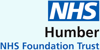 Logo: Humber NHS Foundation Trust - improving health and wellbeing